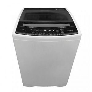 Home Queen Washing Machine Automatic Top Load Capacity 7.5 KG , Dryer 75% , White - HQTW75