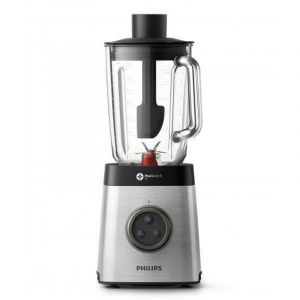 PHILIPS Blender Avance Collection ,1400 watts, Glass Jar 2 Liters ,ProBlend 6 3D technology , Drinks softer up tp 50 %, 35000 RPM , Gray - HR3652/01