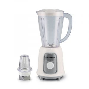 HOMMER 2-in-1 Blender and Grinder with , Bowl - 400W - 2 Speeds with One Push - 220V to 240V Volt - 50/60 Hz, HSA205-02