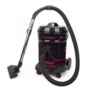 HOMMER Vacuum Cleaner Barrel, 21 L, 2200 Watts, Multi Color - HSA211-06