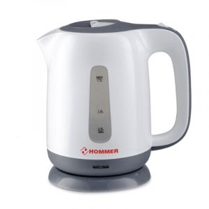 HOMMER Kettle , Power from 1850W to 2000W , 1.7L, 360 ° jug kettle , Concealed stainless steel, HSA222-07