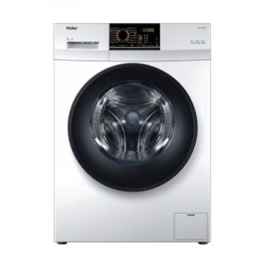 Haier Washing Machines Front Load, 8 kg , Dryer 75% , Inverter ,White - HW80-BP12829