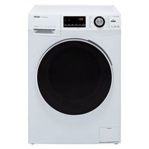 Haier Washing Machines Front Load, 10 kg , Dryer 6 kg, Inverter ,White - HWD100-BP14636