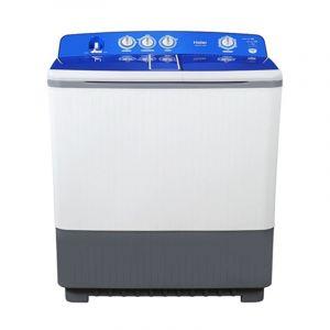 Haier Twin Tub Washing Machine , 13 kg , White - HWM160-KSA1128S