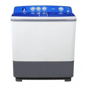 HAIER Washing Machine,Twin Tub ,Semi-Automatic , Capacity 18 Kg, Drying Capacity 14 Kg ,White - HWM215-1128S