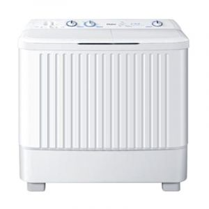 Haier Twin Tub Washing Machine , 8kg , White - HWM80-187S