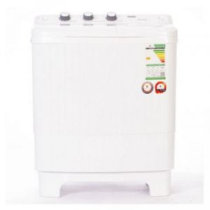 Haas Twin Tub Washing Machine ,6 Kg , White - HWT165XL