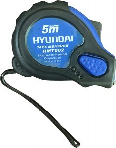 Hyundai Measuring Tape 5M Rubber Coated- HMT002