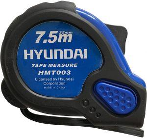 Hyundai Measuring Tape 7.5M Rubber Coated- HMT003.blackbox