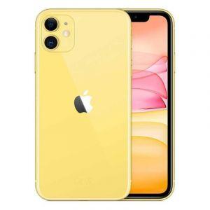 أبل ايفون 11 سعة 64 جيجابايت  ,4جى  , ال تي اي- اصفر