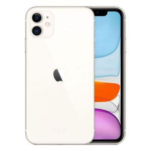 أبل أيفون 11 بسعة 128 جيجابايت, رام 4 جيجابايت , الجيل الرابع 4 جي - أبيض
