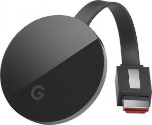 Google Chromecast Ultra Streaming Media Player - Black