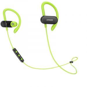 Anker SoundBuds Curve B2B, Black/ Green - A3263HM1