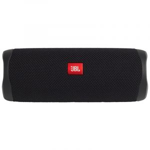 JBL Flip 5 Portable Speaker, Waterproof , Bluetooth, BLACK- JBLFLIP5BLK