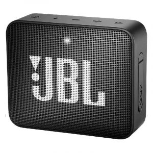 JBL GO 2 Portable Speaker, Bluetooth, Midnight Black