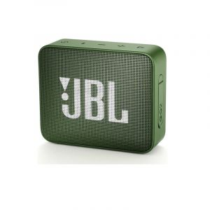 JBL GO 2 Portable Waterproof Bluetooth Speaker , Green - JBLGO2GRN