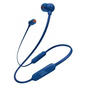 JBL Bluetooth In-the-Ear Headphones, Blue -  JBLT110BTBLU