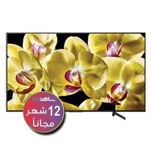 سوني تلفزيون 75 بوصة ال اي دي, 4 كيه اتش دي ار, تقنية ذكية, اسود - KD-75X8500G