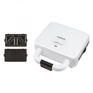 Kenwood Sandwich Maker, 700W, 2 Slice, White - OWSMP84.A0WH - Blackbox