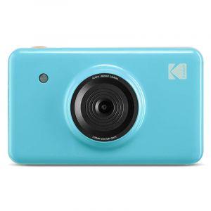 كوداك كاميرا فوريه بلوتوث 2 في 1 كاميرا وطابعة ديجيتال, ازرق - MS-210BL - الصندوق الاسود