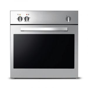 KELVINATOR Electrical Built in oven 60cm, 61L.T , Grill skewer , Steel - KRBO-E4SMTLT-1661/X