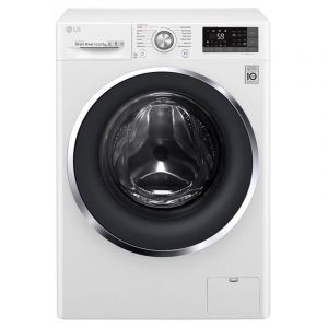 LG 10.5kg washer with 7kg Dryer Front load washing machine, White Color, Turbo Dry-WSC1107WHN