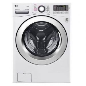 LG 16kg washer with 10kg Dryer Front load washing machine, White , Hybrid WD, WIFI- WS1610WH