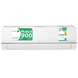 LG Split Air Conditioning Cool Only, 24000 BTU, Energy Efficiency, White - NC242C3NL0
