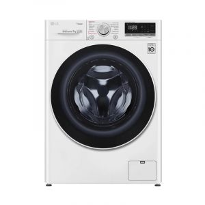 LG Washing Machine Front Load 8 kg, Dryer 75%, 6 Motion, Wi-Fi, DD Drive - WFV0812WH