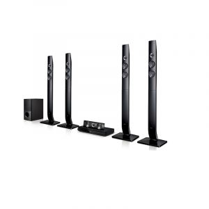 LG Home Theater System 1200 Watt, 5.1 CH, Bluetooth, Black - LHD756