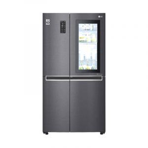 LG Refrigerator Side by Side 2 doors, 28.1 feet, 797 L, Multi Air Flow,Hygiene Fresh, Steel - LS312VBVLN