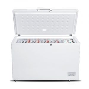 Mando Chest Freezer,13.4 Feet, 380 Liter, White - HFR21-380L | Blackbox