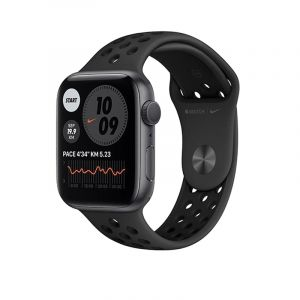 Apple Watch Nike Series 6 GPS, 44mm Space Gray Aluminium Case with Anthracite/Black Nike Sport Band - Regular - MG173AEA