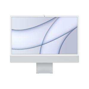 Apple IMAC M1 24 inch, Retina 4.5K display, chip 8‑core CPU, 8‑core GPU, 256GB SSD, Silver - MGPC3AB/A