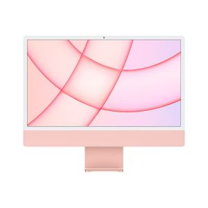 Apple IMAC M1 24 inch, Retina 4.5K display, chip 8‑core CPU, 8‑core GPU, 256GB SSD, Pink - MGPM3AB/A