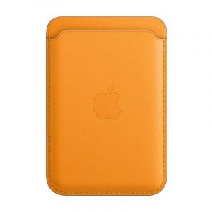 Apple IPhone Leather Wallet with MagSafe , California Poppy - MHLP3ZE/A