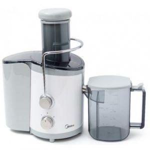 Midea Fruit juicer 450W, Bowl Juice 1.25 L, 2 Speed, Plastic and steel base - MJ45JM01A - Blackbox