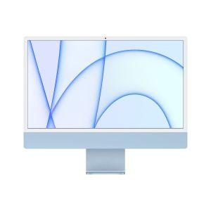 Apple IMAC M1 24 inch, Retina 4.5K display, chip 8‑core CPU, 7‑core GPU, 256GB SSD, Blue - MJV93AB/A