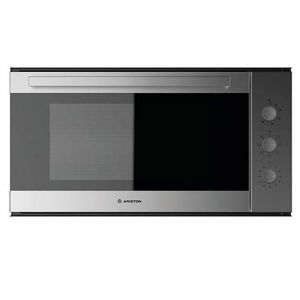 ARISTON Elecric Oven Built-In ,90 cm , Steel ,Alarm ,Twin Glass , Multi functions - ML91IXA