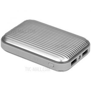 MOMAX Mini3 External Battery Pack ,10000 mAh, Silver - IP58S