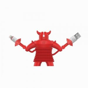 Momax PLAY Warrior Lightning Cable, 1.2M ,Red - DL20R