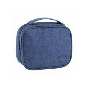 موماكس حقيبة اكسسوار جوال , أزرق- VPD