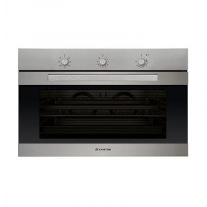 Ariston Electric Built in oven 90 cm, 101 L.T , Double Fan System, 8 Functions , Steel - MS5734IXA