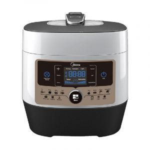 Midea Multi-Functional Pressure Cooker, 14 pre-set programs, 6L ,1000 W , Stainless Steel - MY-SS6062