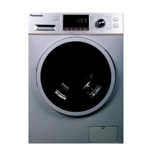 Panasonic Front Load Washer, 7kg, Drying 75%, 1200 RPM, 16 programs, Silver- NA-127MB2LSA