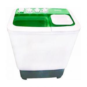 Panasonic Washing Machine Twin Tub , 6kg , White-Green , NA-W60L1WRY