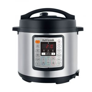 Nutricook Smart Electric Pressure Cooker 9 x 1 , 6 L, 1000W, 13 Setting - NC-SPEK6