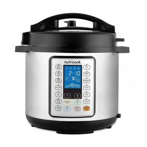 Nutricook Smart Electric Pressure Cooker 10 x 1 , 6 L, 1000W, 14 Setting - NC-SPPR6