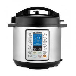 Nutricook Smart Electric Pressure Cooker 10 x 1 , 8 L, 1300W, 14 Setting - NC-SPPR8
