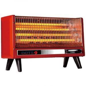 دوتس دفاية كهربائية شكل مستطيل , 2000 واط, 4 شمعات, مفتاح للتحكم بدرجات الحراره - NI-200SF